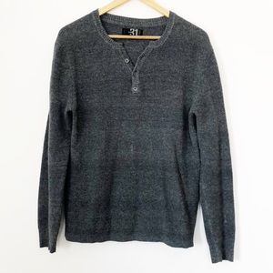Men's Le 31 Thermal Knit Henley Shirt from Simons